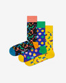 Happy Socks Happy Birthday 3-pack Čarape