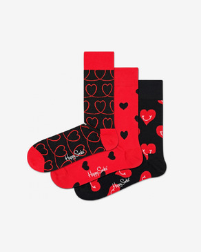 Happy Socks I Love You 3-pack Čarape