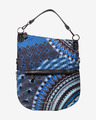 Desigual Blue Friend Folded Torba