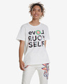 Desigual Love Your Self Majica