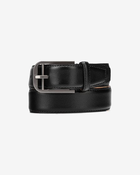 Calvin Klein Double Bar Buckle Remen